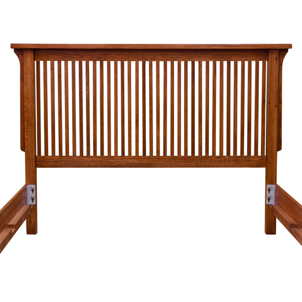 Mission Deluxe Low Footboard Bed Barn Furniture