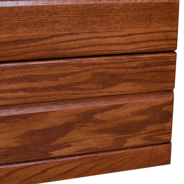 Contemporary Oak 3 Drawer Chest Barn Furniture