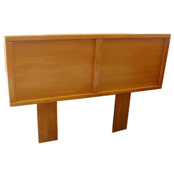 Contemporary Light Oak Panel Headboard Barn Furniture