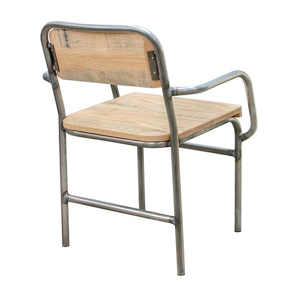 Industrial Arm Chair Barn Furniture