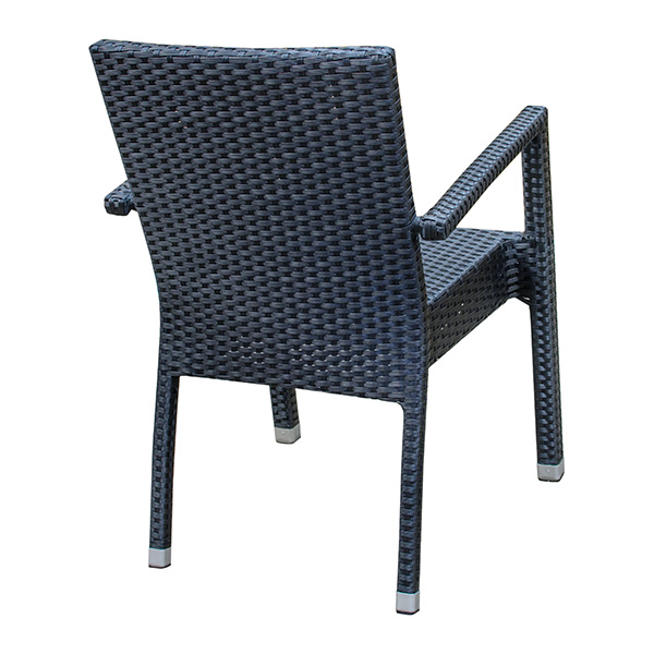 Brunswick Arm Chair Black Barn Furniture