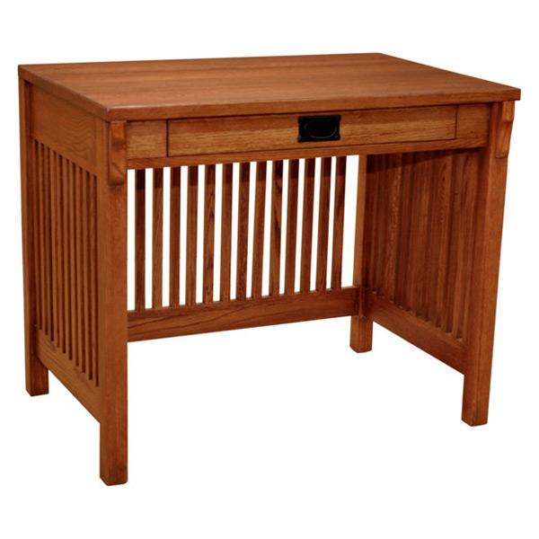 Mission Spindle Writing Desk Barn Furniture