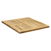 Teak Patio Table Top - Square