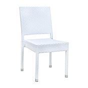 Brunswick Side Chair - White