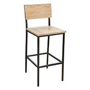 Industrial Metal Barstool