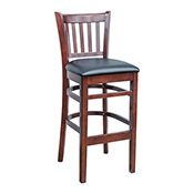 JR School House Barstool - Dark Mahogany