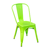 Pari's Metal Chair - Green