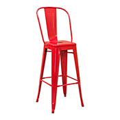 Pari's Barstool - Red
