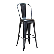 Pari's Barstool - Antique Black