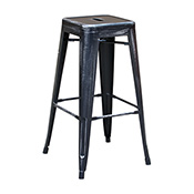 Pari's Stool - Antique Black