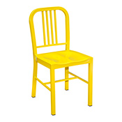 Navy Chair - Yellow