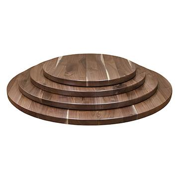 Character Walnut Top- Round