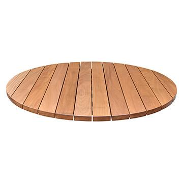 Brazilian Cherry Patio Outdoor Slat Top