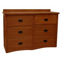 Mission Deluxe 6 Drawer Chest