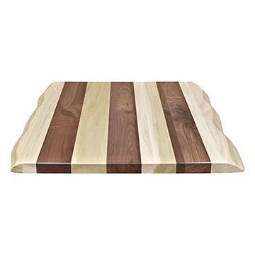 Poplar & Walnut Table Top