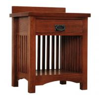 Mission Deluxe Nightstand