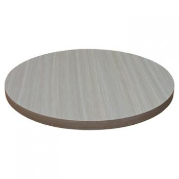 Round Laminate Table Top - Self Edge