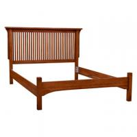 Mission Deluxe Low Footboard Bed