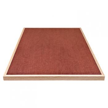 Laminate Table Top - Wood Edge