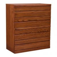 Contemporary 4 Drawer Oak Chest