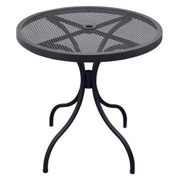 Steel Outdoor Round Table