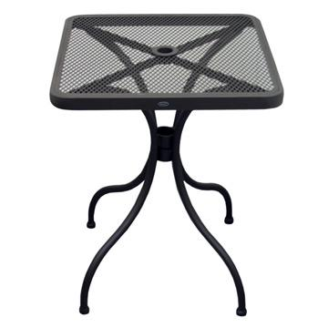 Steel Outdoor Mesh Square Table