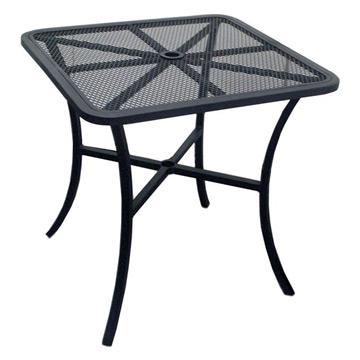 Steel Outdoor Square Mesh Table