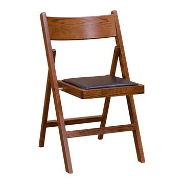 Folding Chair- Upholstered Seat