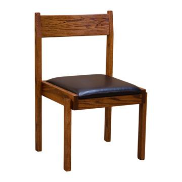 Boston Stacking Chair w/ Vinyl