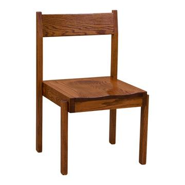 Boston Stacking Chair w/ Wood Seat