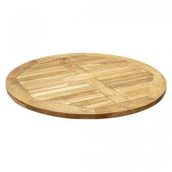 Teak Patio Table Top - Round