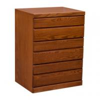 Contemporary 3 Drawer Night Stand