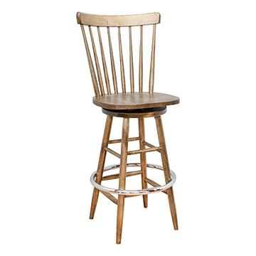 Contemporary Swivel Barstool