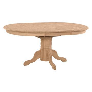 Pedestal Table w/ Leaf