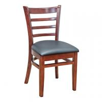 Ladder Back Side Chair - Mahogany