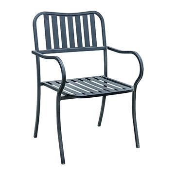 Outdoor Metal Arm Chair
