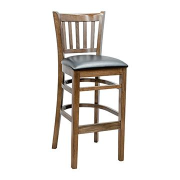 JR School Barstool - Walnut