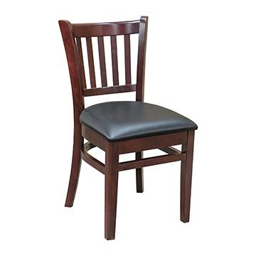 JR School Chair - Dark Mahogany