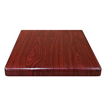 Resin Table Top (Dark Mahogany)