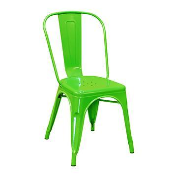 Pari's Metal Chair - Green