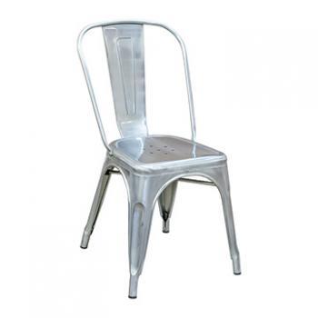 Pari's Metal Chair - Gun Metal