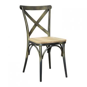 Vintage Chair - Vintage Brass