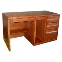 Contemporary Single Pedestal Desk