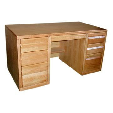 Contemporary Double Pedestal Desk