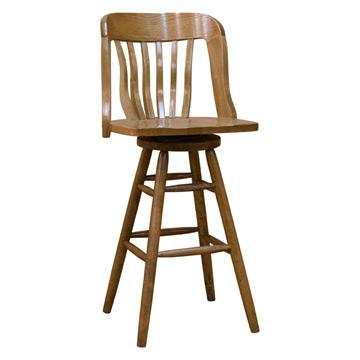 Bank of England Side Swivel Barstool