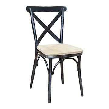 Vintage Chair - Antique Black
