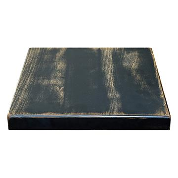 Maple Table Top - Antique Black Finish