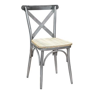 Vintage Chair - Gun Metal