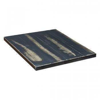 Poplar Table Top - Black Antique