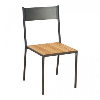 Industrial Moon Metal Chair